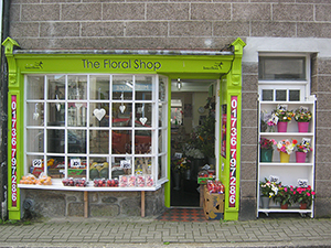 Floral Shop - St Ives Cornwall